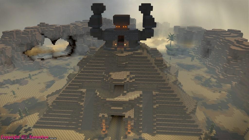 ドラゴンクエストビルダーズ2 ピラミッド
