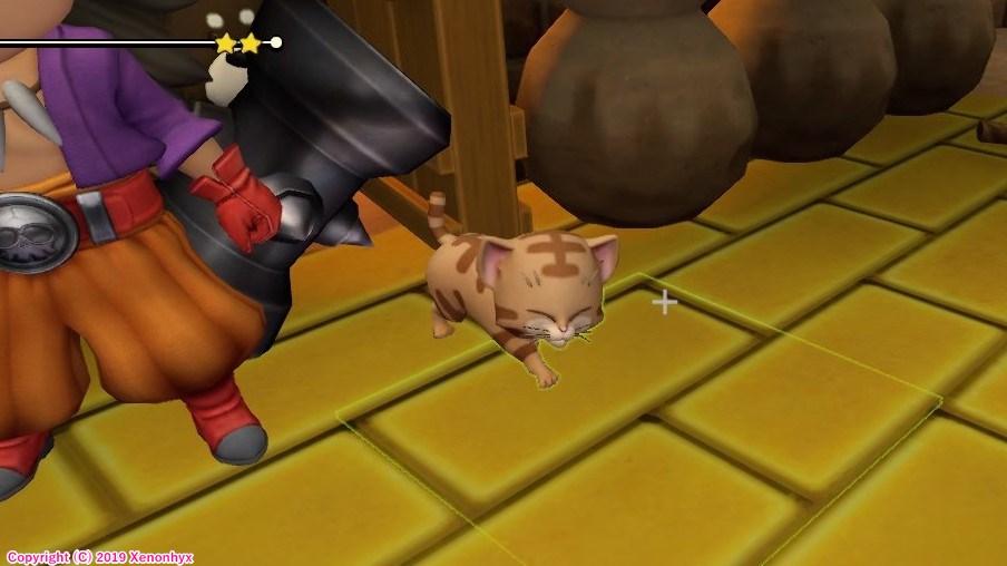 ドラゴンクエストビルダーズ2 茶猫
