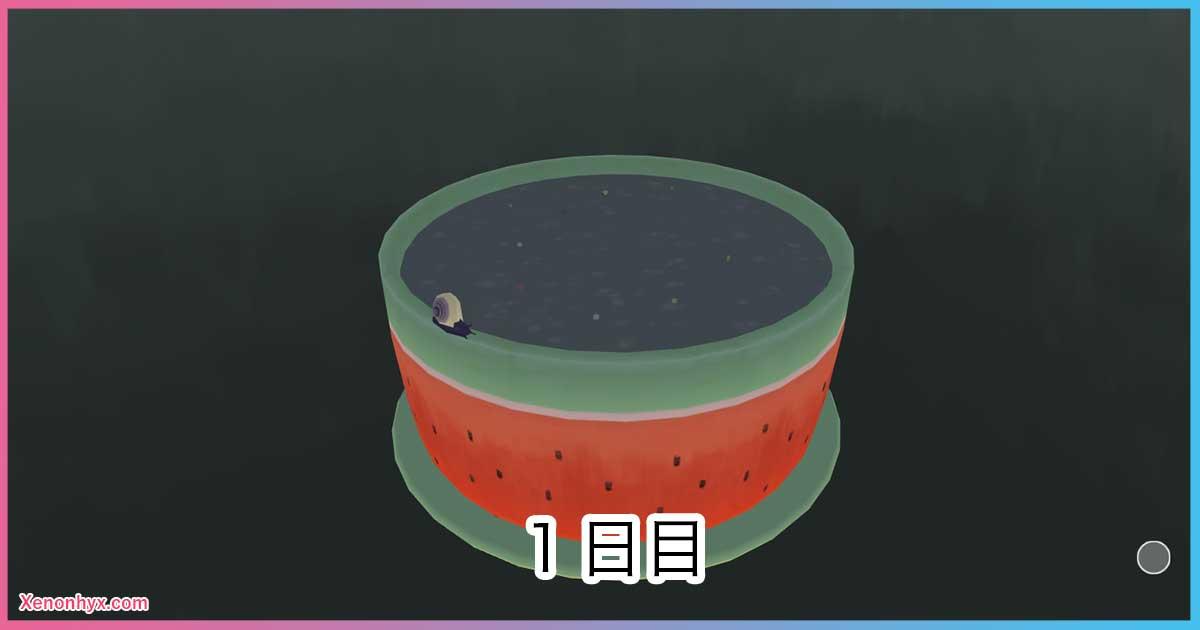 1日目の鉢