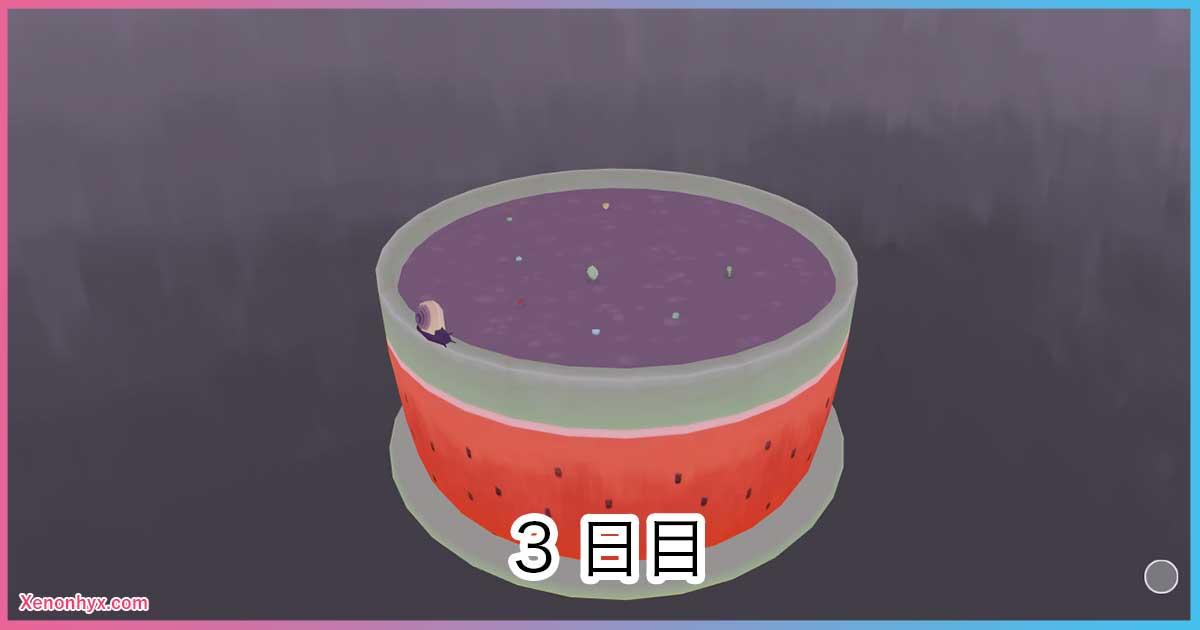 3日目の鉢