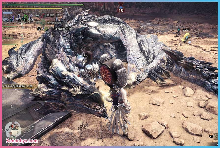 リオレウス希少種 (銀火竜)
