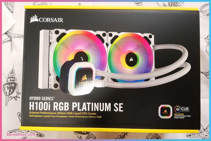 Corsair H100i RGB PLATINUM SE / CW-9060042-WW