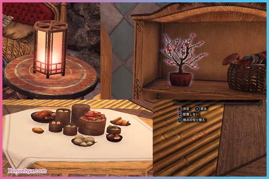 MHW 万福の宴 家具