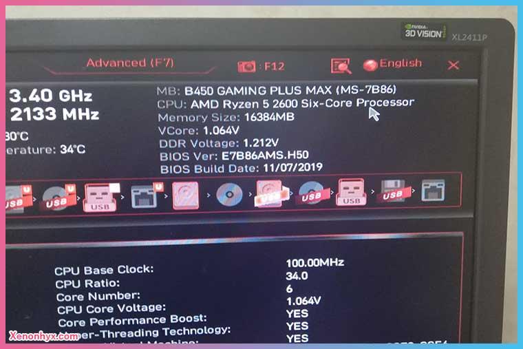MSI M/B バージョン